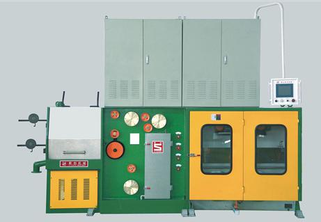 Single coil / double coil take-up small pull continuous annealing machine